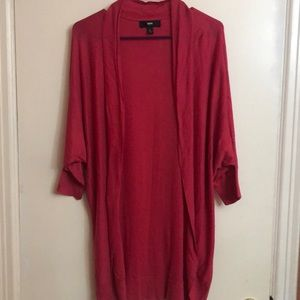 Women's Mossimo Pink Cardigan Size L